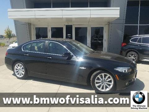 2016 BMW 5 Series for sale in Visalia, CA