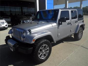 2014 Jeep Wrangler Unlimited for sale in Hastings, NE