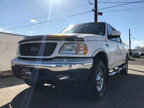 2002 Ford F-150 4dr SuperCrew Lariat 4WD Styleside SB - Union Gap WA