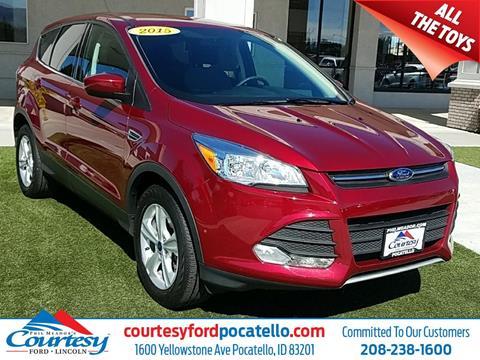 2015 Ford Escape for sale in Pocatello, ID