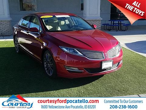 2015 Lincoln MKZ Hybrid for sale in Pocatello, ID