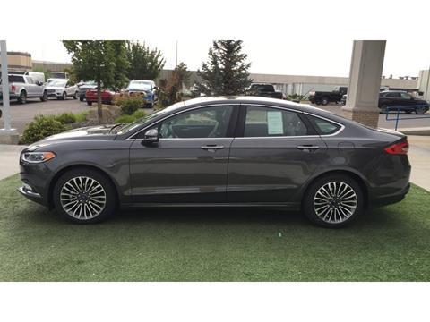 2017 Ford Fusion for sale in Pocatello, ID