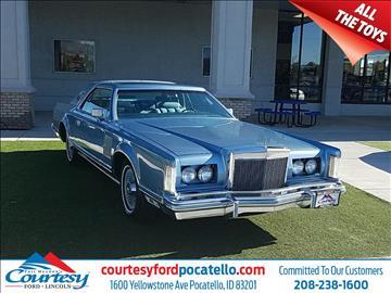 Courtesy Ford Pocatello >> Lincoln Mark VIII For Sale - Carsforsale.com