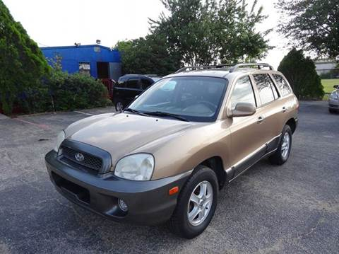 2004 Hyundai Santa Fe for sale in Houston, TX
