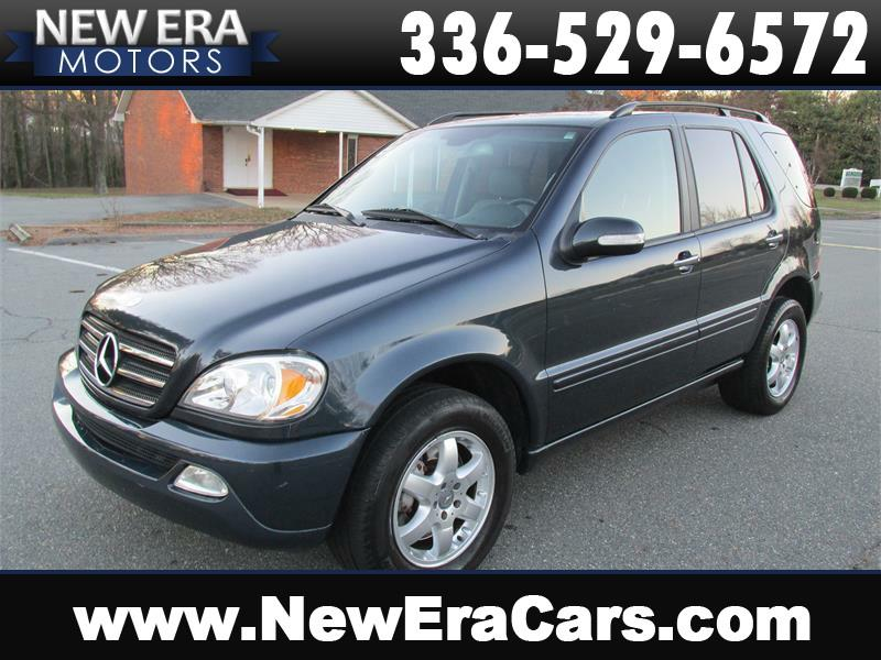 2002 mercedes benz m class awd ml 500 4matic 4dr suv in winston salem nc new era motors. Black Bedroom Furniture Sets. Home Design Ideas