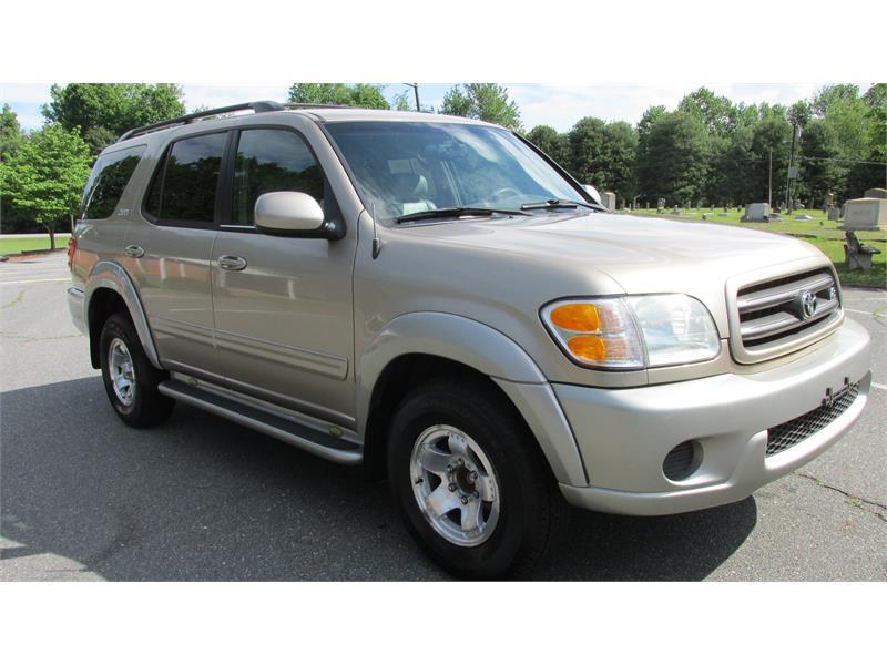 2001 toyota sequoia sr5 2wd 4dr suv in winston salem nc new era motors. Black Bedroom Furniture Sets. Home Design Ideas