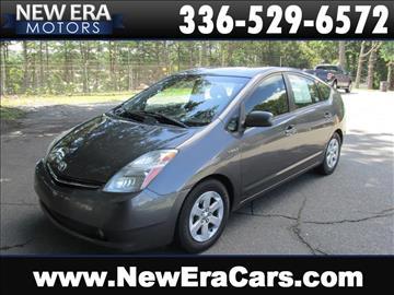 2008 toyota prius for sale in north carolina for New era motors winston salem nc