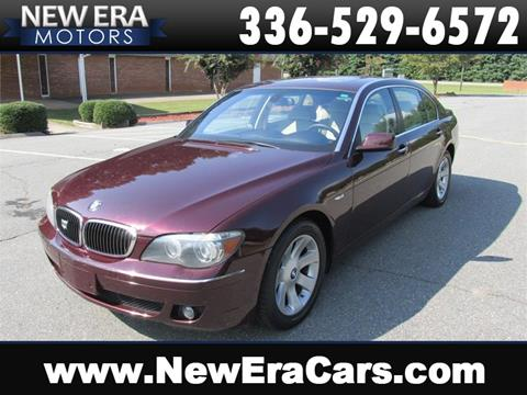 2008 BMW 7 Series for sale in Winston Salem, NC