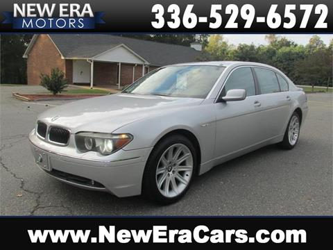 2005 BMW 7 Series for sale in Winston Salem, NC