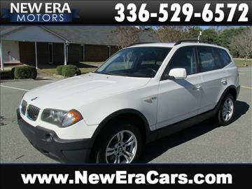 2005 BMW X3 for sale in Winston Salem, NC
