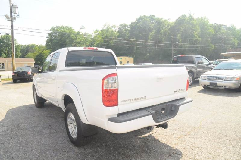 2006 Toyota Tundra Limited 4dr Double Cab 4WD SB - Anderson SC