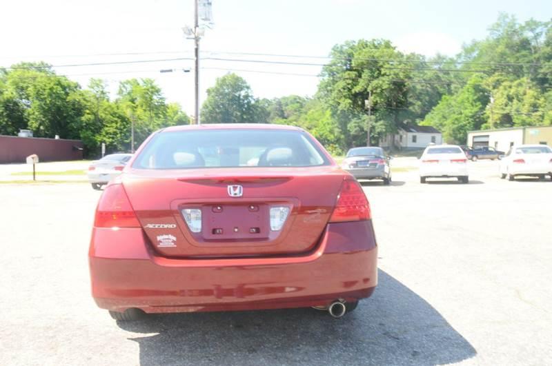2007 Honda Accord Special Edition 4dr Sedan (2.4L I4 5A) - Anderson SC