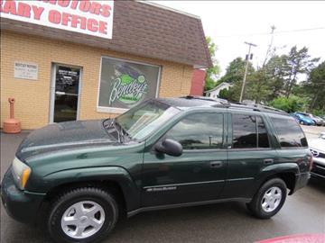 2002 Chevrolet TrailBlazer for sale in Bloomington, IL