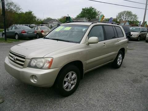 2003 Toyota Highlander for sale in Baltimore, MD