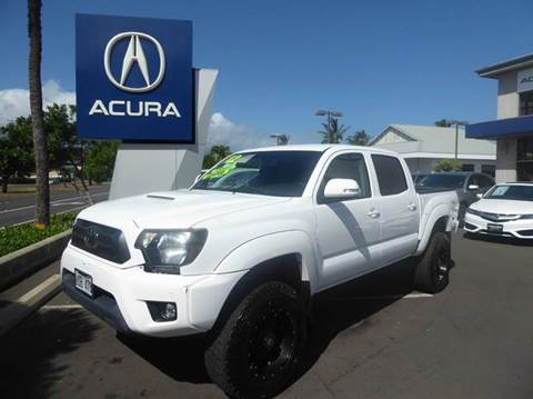 2012 Toyota Tacoma for sale in Kahului, HI