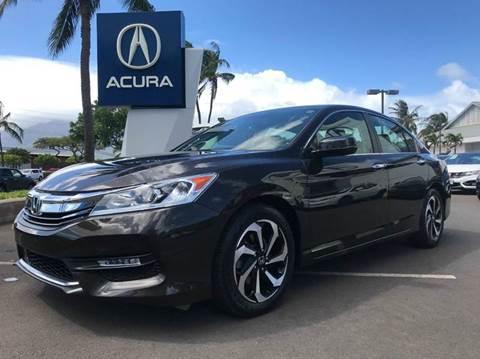 2016 Honda Accord for sale in Kahului, HI