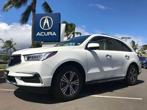 2017 Acura MDX for sale in Kahului, HI