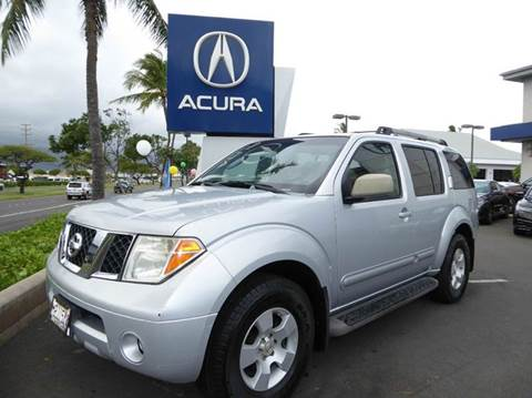 2007 Nissan Pathfinder for sale in Kahului, HI