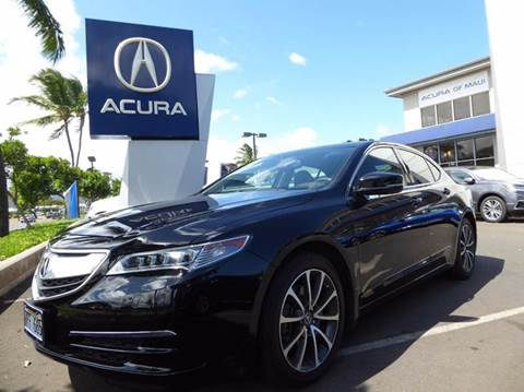 2015 Acura TLX for sale in Kahului, HI