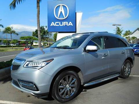 2016 acura mdx for sale winston salem nc. Black Bedroom Furniture Sets. Home Design Ideas