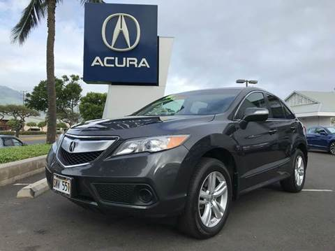 2015 Acura RDX for sale in Kahului HI