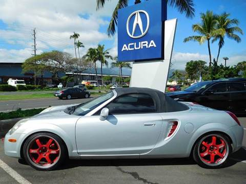 2003 Toyota MR2 Spyder for sale in Kahului, HI