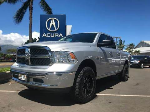 2016 RAM Ram Pickup 1500 for sale in Kahului HI