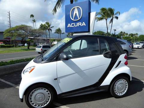 2014 Smart fortwo for sale in Kahului, HI