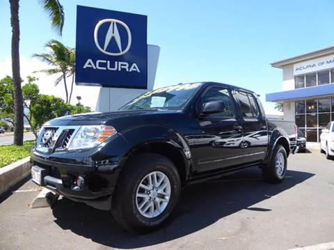 2015 Nissan Frontier for sale in Kahului HI