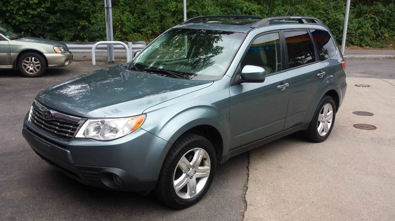 2009 subaru forester 2 5 x limited awd 4dr wagon 4a in west roxbury ma nick 39 s parkway auto repair. Black Bedroom Furniture Sets. Home Design Ideas