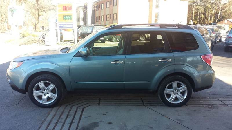 2009 subaru forester 2 5 x premium awd 4dr wagon 4a in west roxbury ma nick 39 s parkway auto repair. Black Bedroom Furniture Sets. Home Design Ideas
