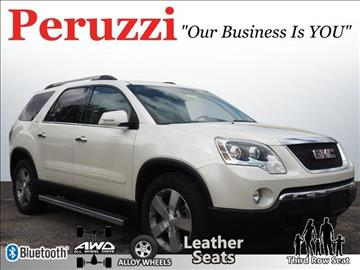 2011 GMC Acadia for sale in Fairless Hills PA
