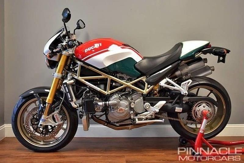 2008 Ducati Monster S4RS Tricolore #101