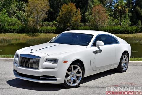 2017 Rolls-Royce Wraith for sale in Royal Palm Beach, FL