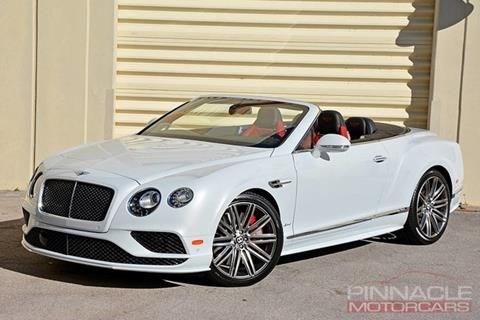 2016 Bentley Continental GTC Speed for sale in West Palm Beach, FL