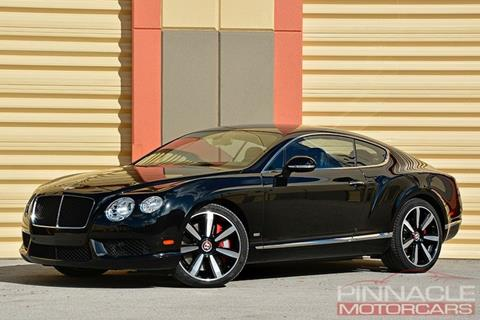 2013 Bentley Continental GT V8 for sale in West Palm Beach, FL