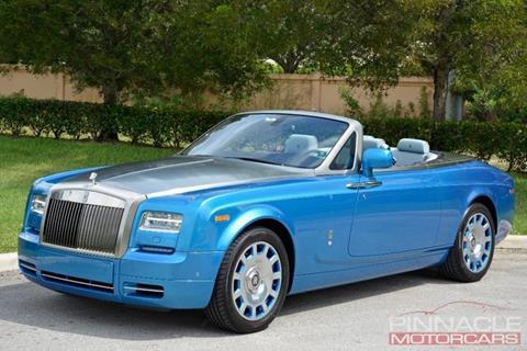 2015 Rolls-Royce Phantom Drophead Coupe for sale in Royal Palm Beach, FL