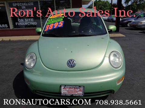 2001 Volkswagen New Beetle for sale in Melrose Park, IL