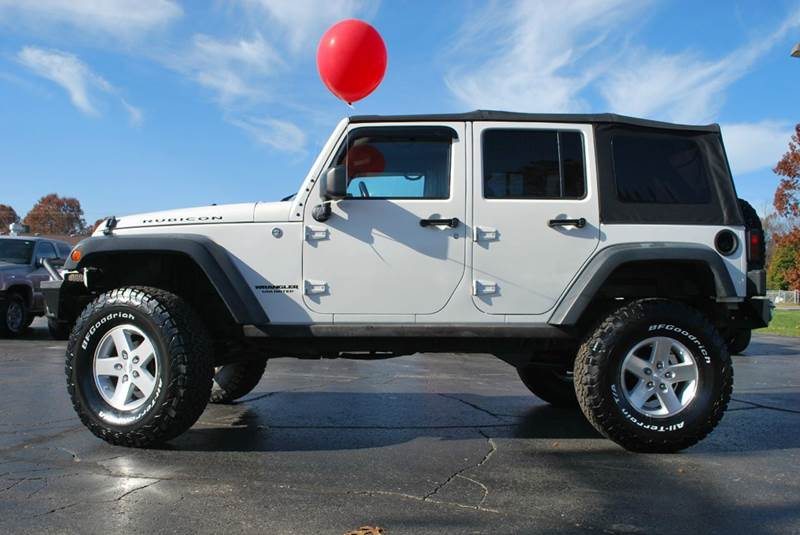 2009 Jeep Wrangler Unlimited 4x4 Rubicon 4dr SUV w/ Front Side Airbags - Mattawan MI