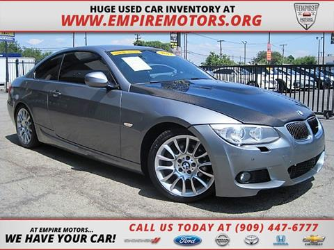 2013 BMW 3 Series for sale in Montclair CA