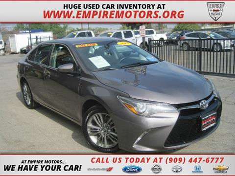 2015 Toyota Camry for sale in Montclair, CA