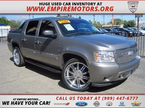 2008 Chevrolet Avalanche for sale in Montclair CA