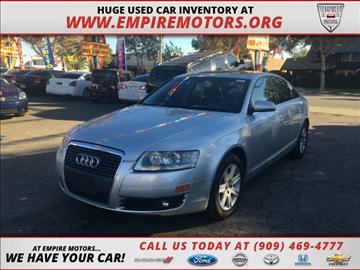 2006 Audi A6 for sale in Montclair, CA