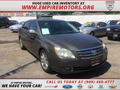 2006 Toyota Avalon for sale in Montclair CA
