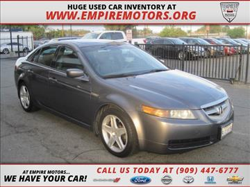 2006 Acura TL for sale in Montclair, CA