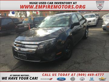 2011 Ford Fusion for sale in Montclair, CA