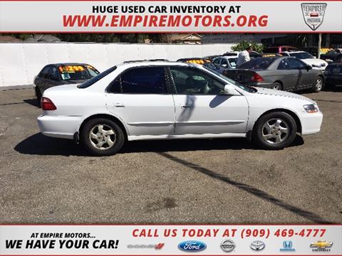 1999 Honda Accord for sale in Montclair, CA