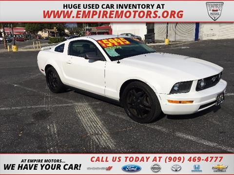 2005 Ford Mustang for sale in Montclair CA