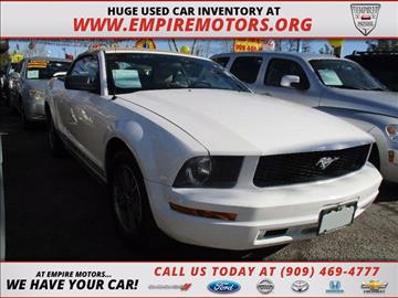2005 Ford Mustang for sale in Montclair, CA