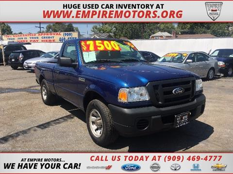 2009 Ford Ranger for sale in Montclair CA
